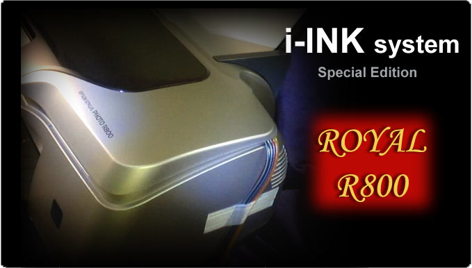 InkRepublic.com iINK series - Royal R800 Bulk Ink System