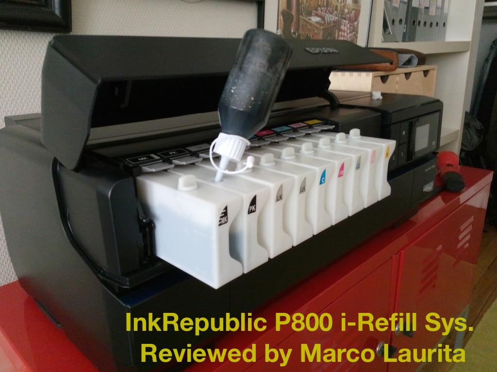 InkRepublic - P800 Refill, P600 CIS, P600 Refill, R2000 CIS